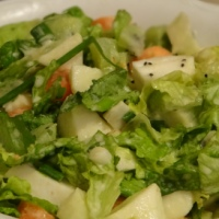 Semi-Waldorf Salad / Полу-Волдорф салата