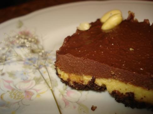 Raw Chocolate Orange Cheesecake / Жив чоколаден чизкејк со портокал