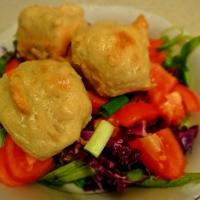 Steamed Vegan Dumplings / Посни кнедли на пареа