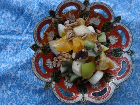 Winter Fruit Salad / Зимска овошна салата