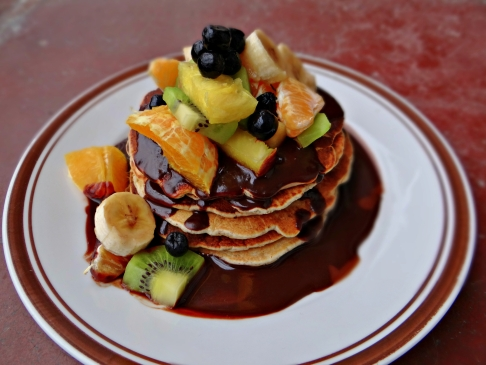 Perfect American Vegan Pancakes / Совршени посни американски палачинки