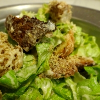 Ultimate Vegan Cesar Salad / Највкусната посна Цезар салата