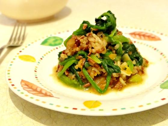76. Spinach Risotto