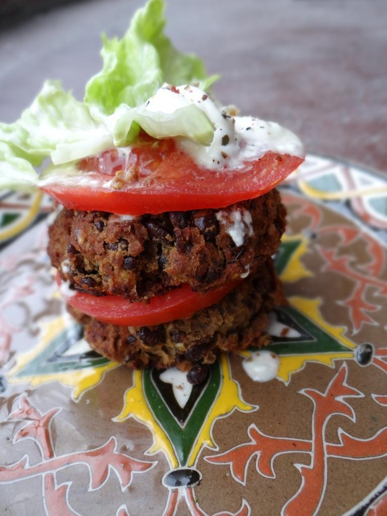 Azuki Bean Burgers / Плескавици од азуки грав