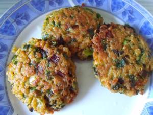 Parsley & Soy Burgers / Ќофтиња со магдонос и соја