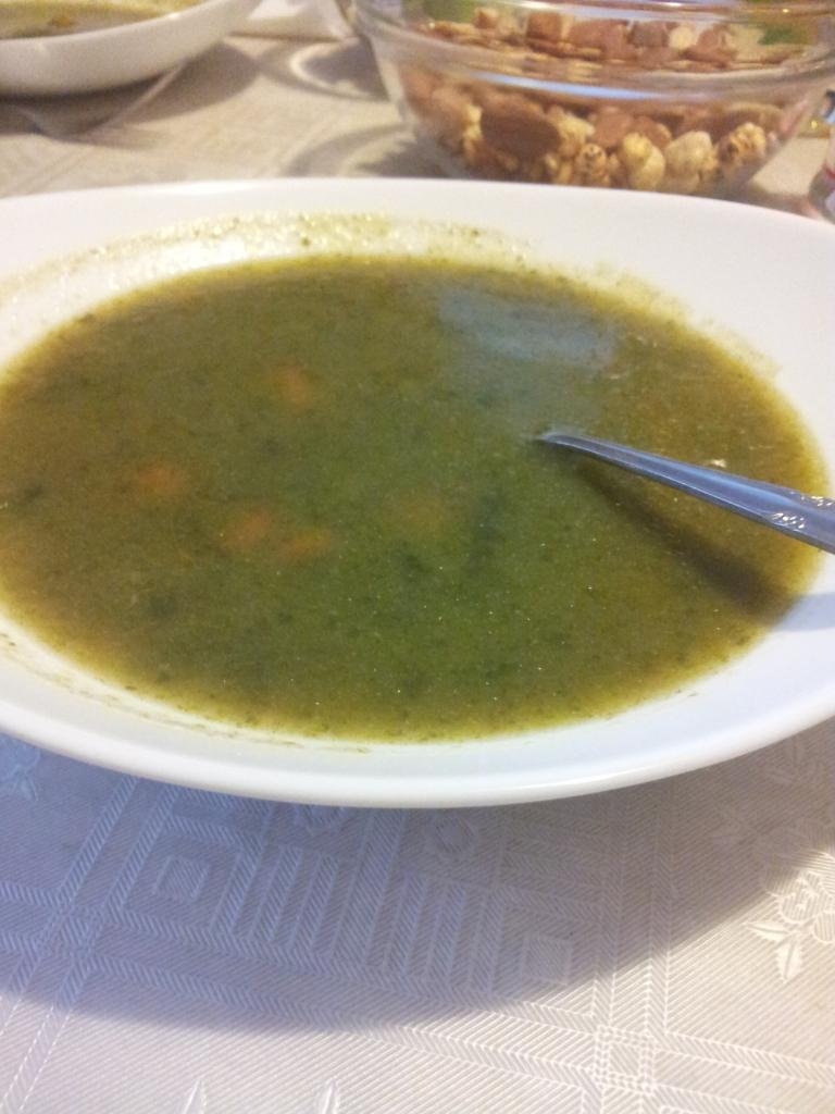 Spinach Soup / Супа од спанаќ