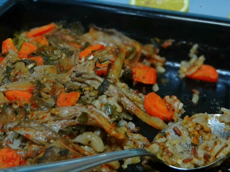 Rice and Oyster Mushrooms / Ориз со буковка