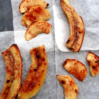 Glazed Apples and Bananas / Глазирани јаболка и банани
