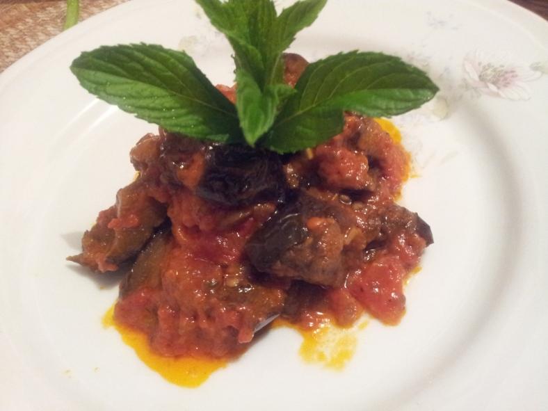 Mediterranean Eggplant / Модар патлиџан на медитерански начин