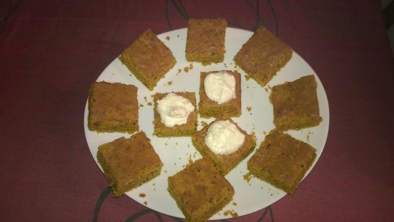 Vegan Pumpkin Pie / Посен колач од тиква